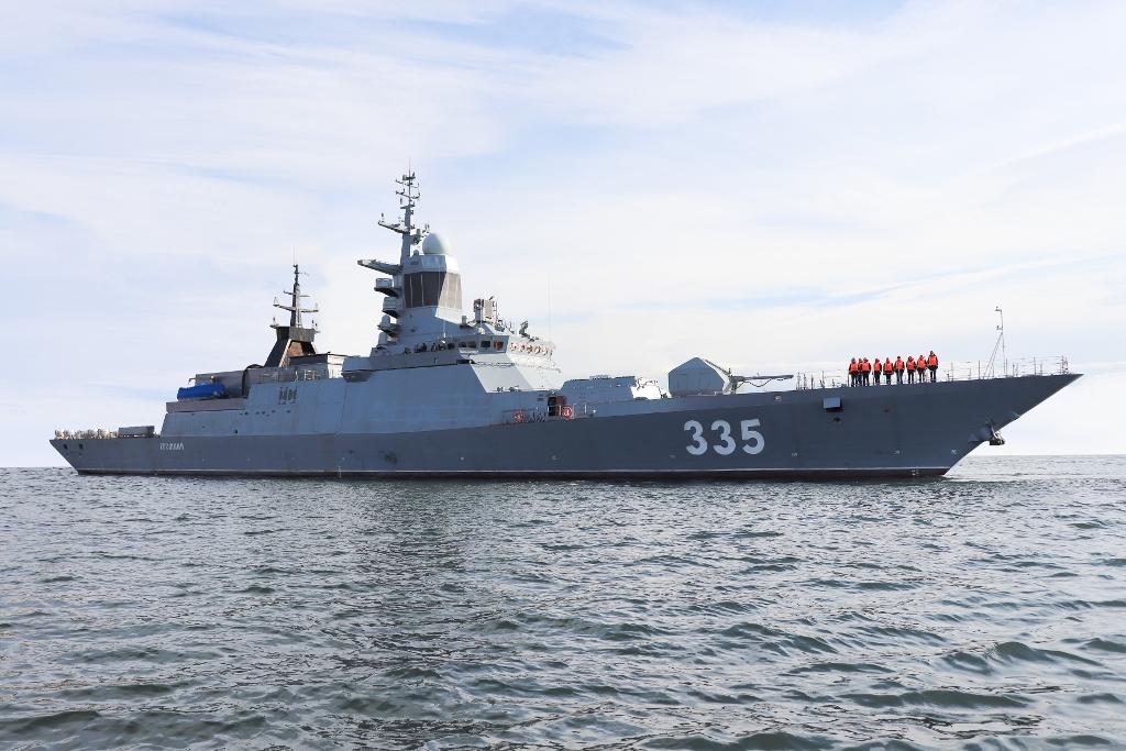 Russian corvette Gromkiy to be delivered on December 25