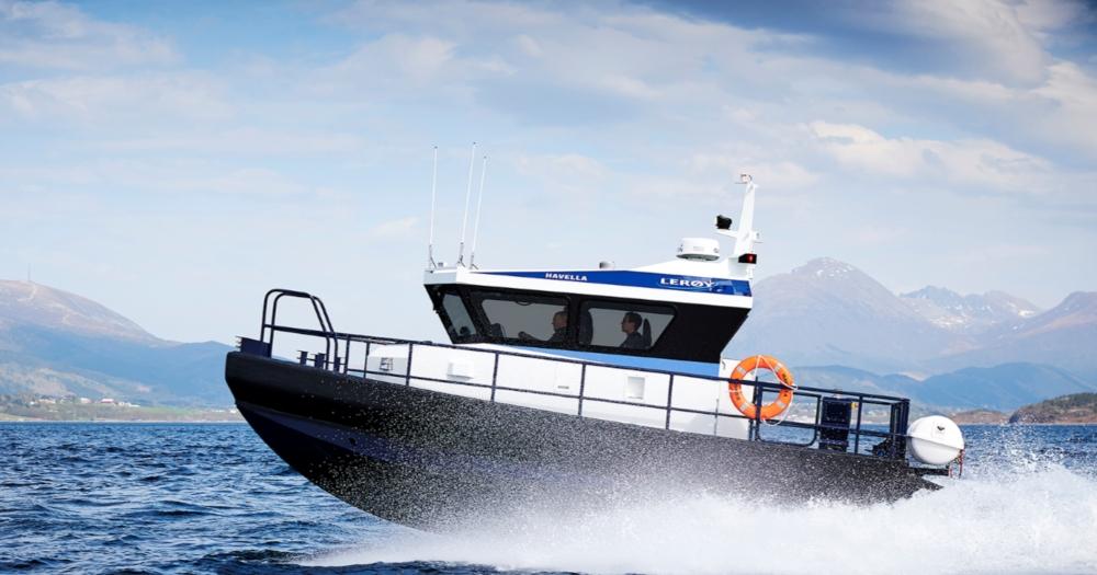Lerøy Aurora takes delivery of Hukkelberg crew transfer boat