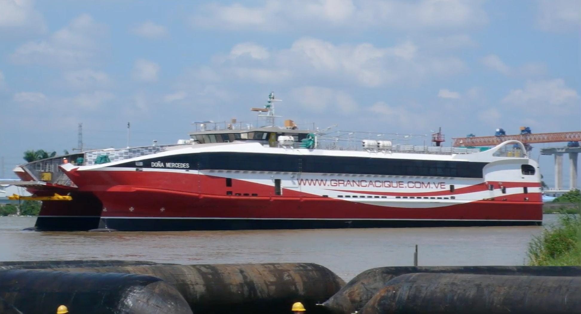 Kentec fire control panels protect Trinidad & Tobago fast ... |Trinidad And Tobago Ferries