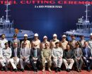 First steel cut for new pusher tug pair for Pakistan Navy