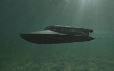 New submersible Special Forces swimmer delivery vehicle