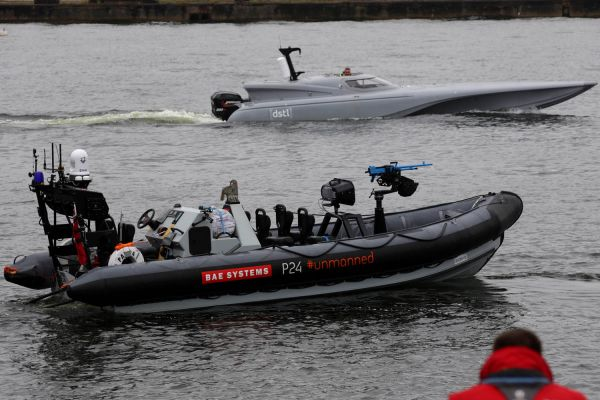 BAE Systems conducts ship integration trials of unmanned combat RIB