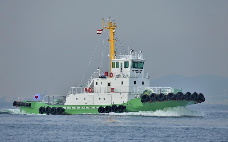VESSEL REVIEW   Yashima Maru – Cutting edge Japan-built tug for the Port of Tokyo