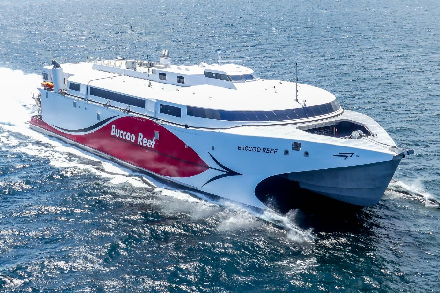 VESSEL REVIEW | Buccoo Reef – Trinidad and Tobago's newest large Ro-Pax boasts 45 knots top speed
