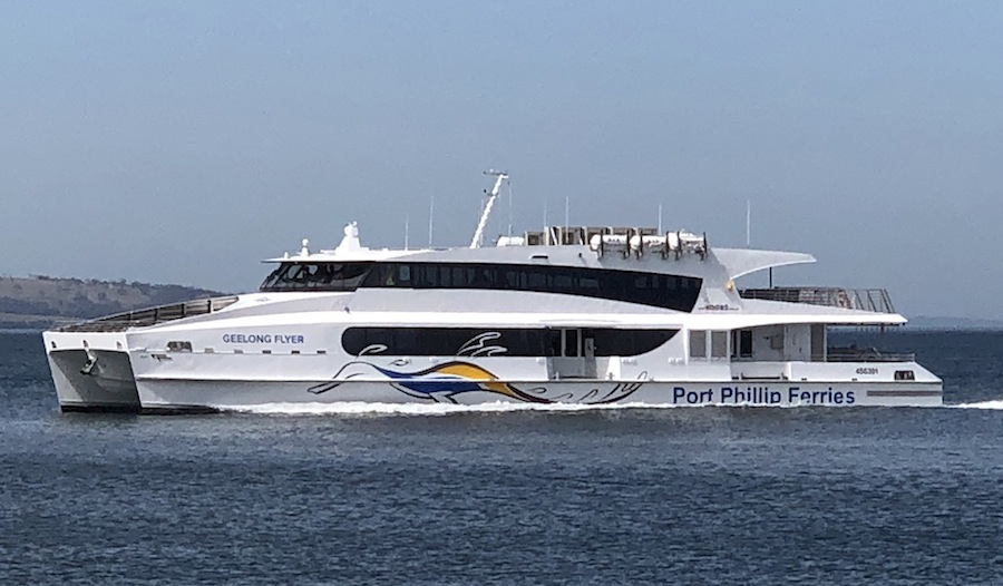 VESSEL REVIEW | Geelong Flyer – Refined catamaran ferry for Australia's Melbourne-Geelong route