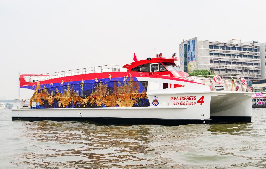 VESSEL REVIEW   Riva Express 4 – Chao Phraya Express Boat gets ferry quartet for Bangkok-Nonthaburi service