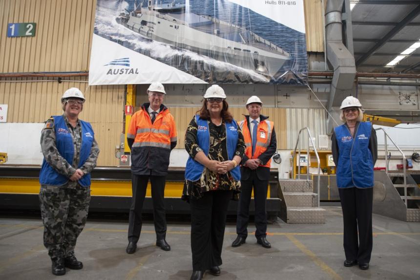 Austal Australia cuts metal for RAN's second Cape-class patrol ...