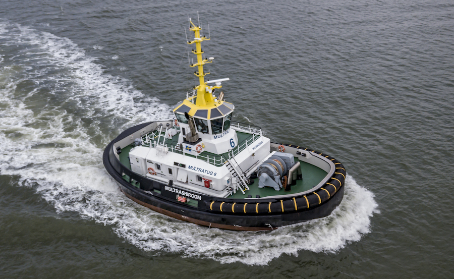 VESSEL REVIEW | Multratug 6 – Multraship's new reverse stern drive tug ahead of the pack for crew comfort, emissions