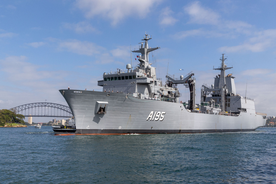 VESSEL REVIEW | Supply – Royal Australian Navy's newest fleet replenishment ship