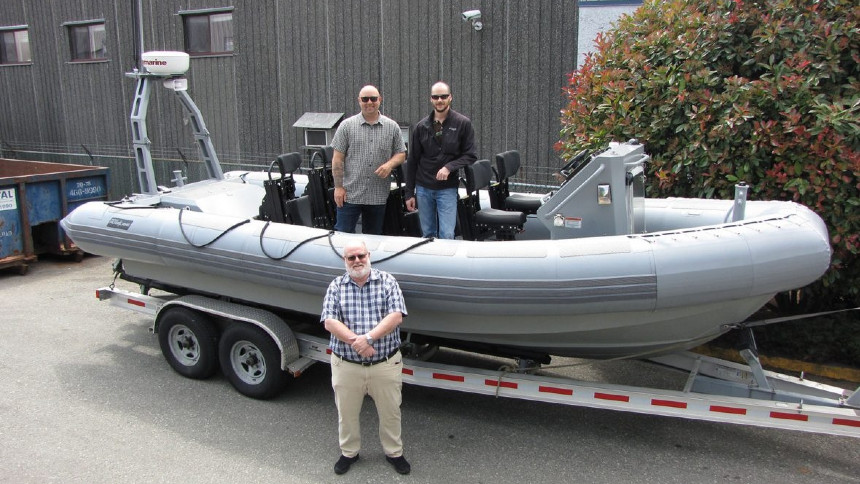 Canadian Armed Forces awards boat support contract to BC RHIB builder