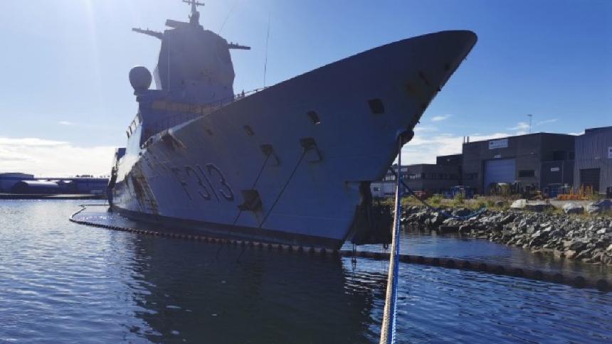 Norwegian firm awarded contract to scrap frigate Helge Ingstad