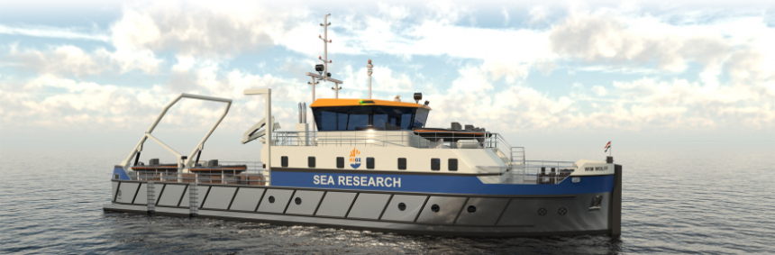Dutch research foundation awards vessel newbuilding contract to Kampen yard