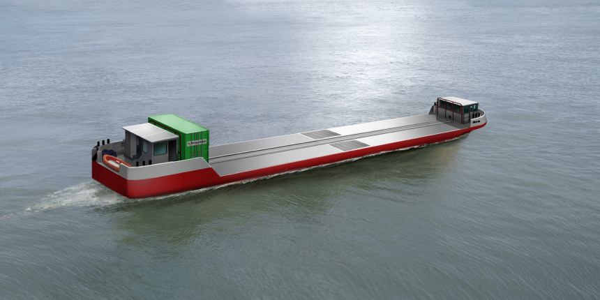 World's first hydrogen-powered cargo vessel set for Paris debut