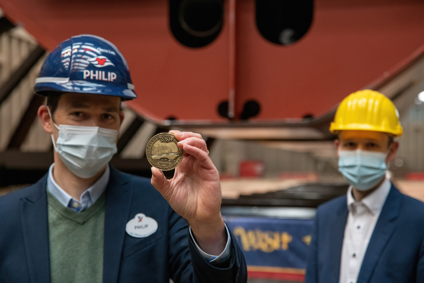 Keel laid for LNG-powered Disney Cruise Line ship