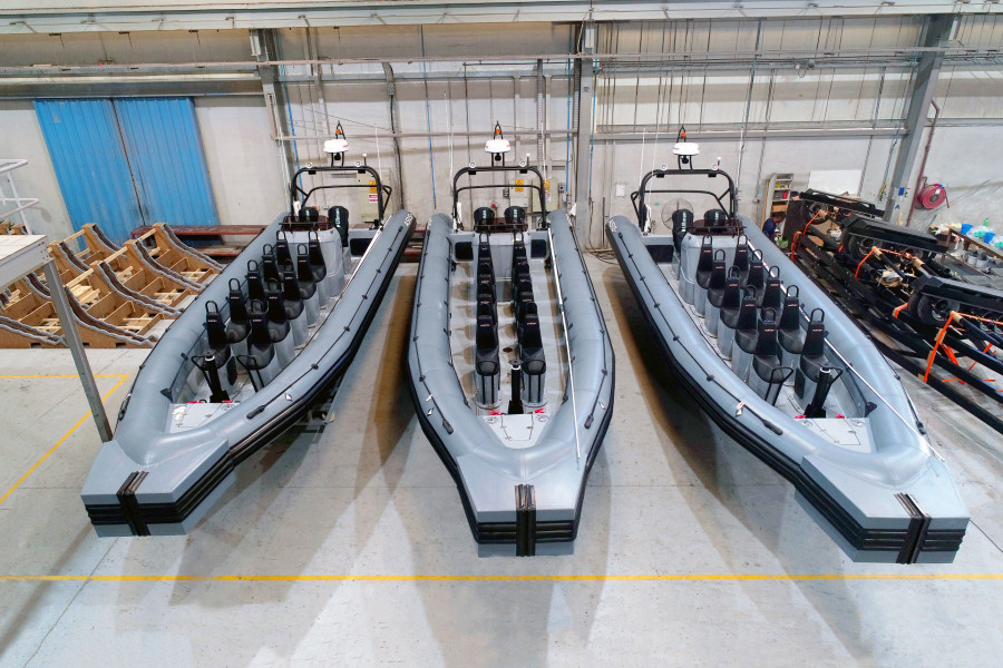 VESSEL REVIEW | Offshore-capable RIBs for Asian naval operator