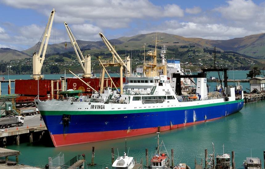Factory trawler Irvinga