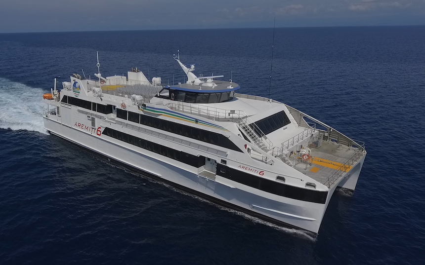 VESSEL REVIEW | Aremiti 6 – Flexible ferry design for French Polynesia