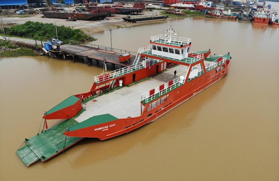 VESSEL REVIEW | Primrose XXVI – Cross-river Ro-Pax ferry for Malaysian Borneo