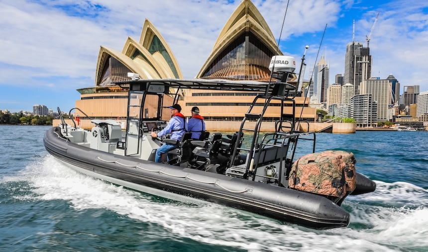 VESSEL REVIEW | Australian HDPE patrol RHIB demonstrator model hits the water
