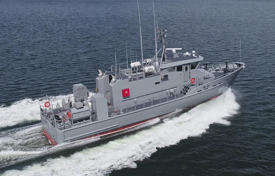 VESSEL REVIEW | Betelgeuse – Metal Shark supplies 26-metre coastal patrol boat to Dominican Navy