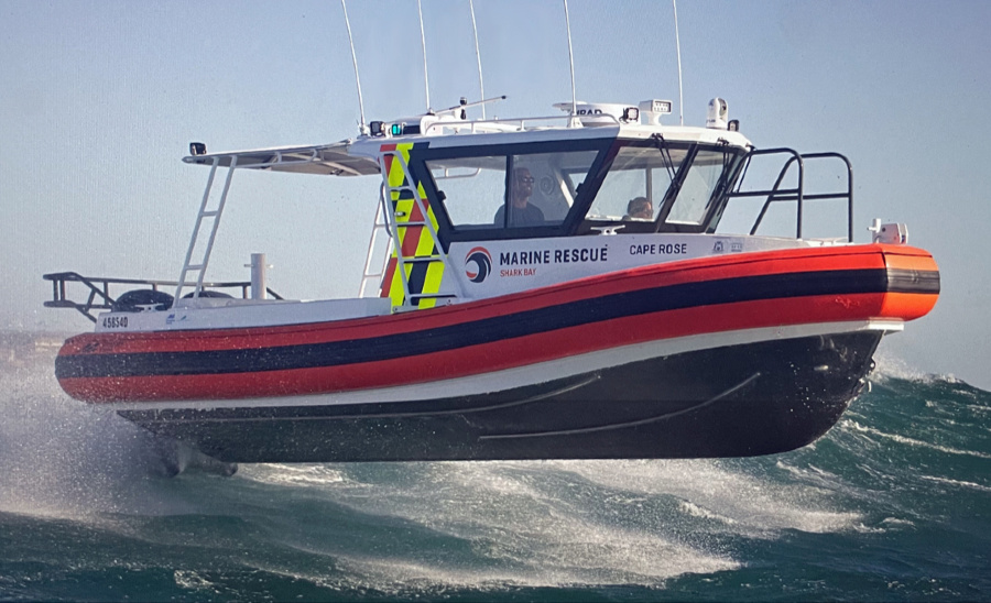VESSEL REVIEW | Cape Rose – Marine Rescue Shark Bay's new highly durable RIB