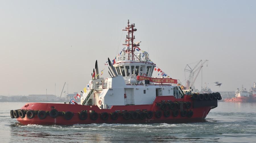 VESSEL REVIEW | Jin Gang Lun 34 – China-built, multi-purpose tug for Tianjin Port