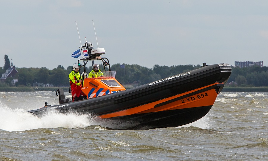 VESSEL REVIEW   Promers –Holland's Naarden Lifeboat Brigade receives flash new RHIB SAR boat