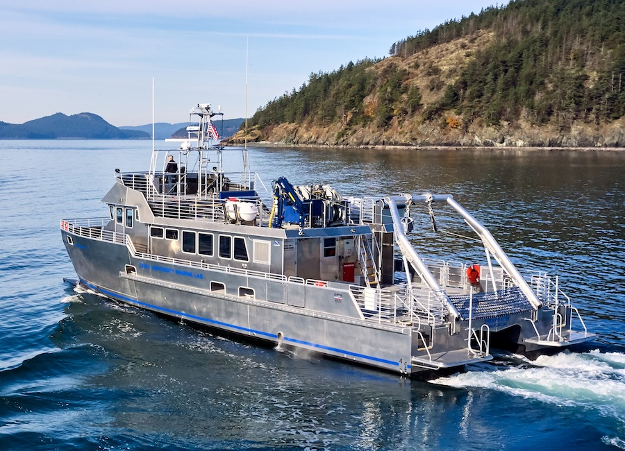 VESSEL REVIEW | Shearwater – Advanced 22-metre catamaran research vessel for North Carolina
