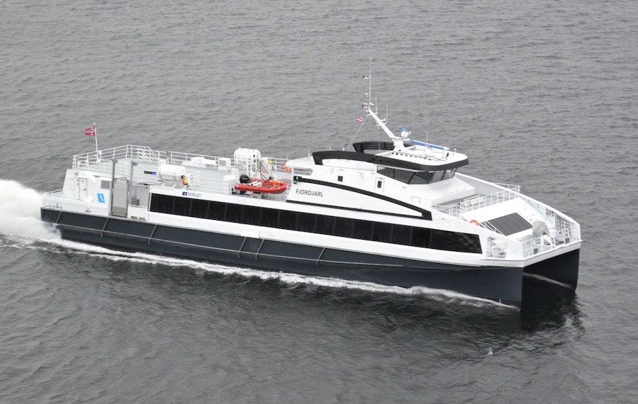 VESSEL REVIEW | Fjordjarl – Norled ups the passenger capacity for its new three-boat ferry fleet expansion