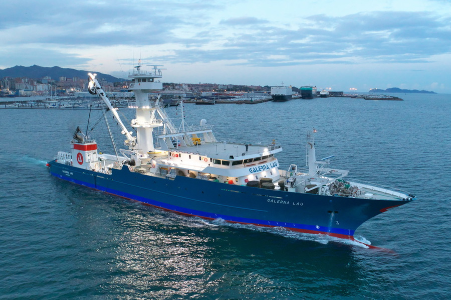 VESSEL REVIEW | Galerna Lau – Spain's Albacora Group takes delivery of 95-metre tuna freezer-seiner