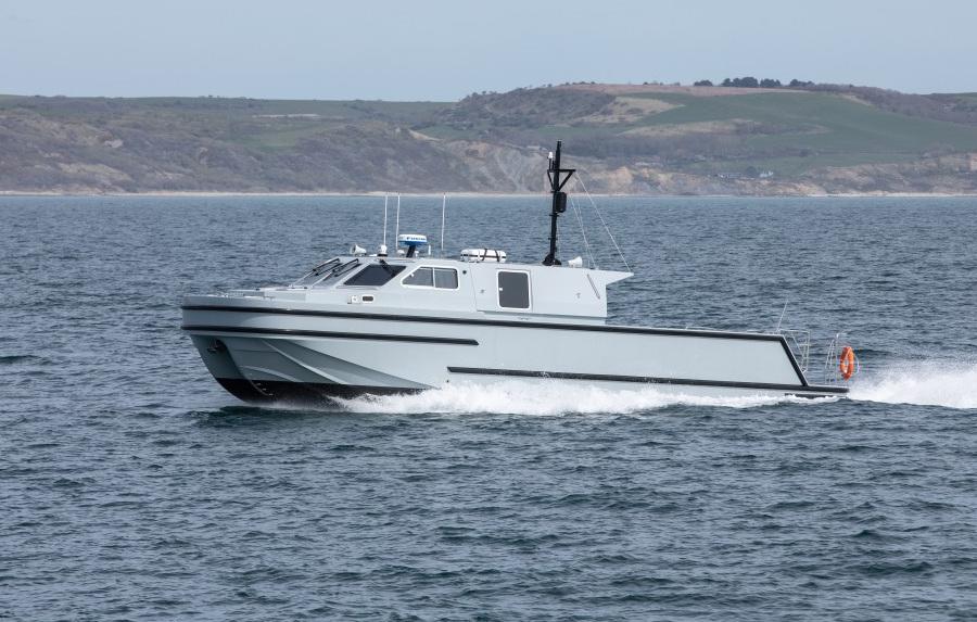 VESSEL REVIEW   Hebe – New 15m autonomous minehunter enters service with Royal Navy