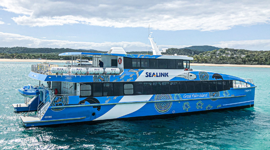 VESSEL REVIEW   Coolgaree Cat – Efficient, durable catamaran ferry for Sealink's Townsville-Palm Island route