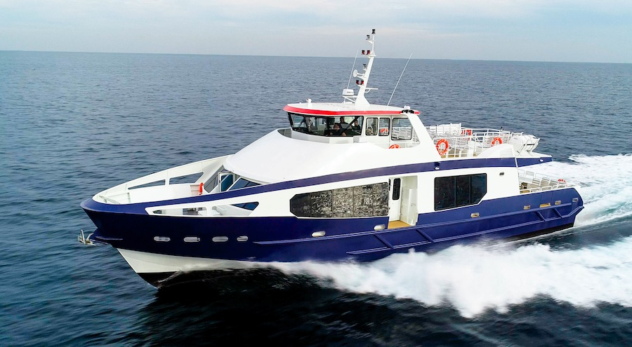 VESSEL REVIEW | Saint-Germain – Luxurious French-designed passenger ferry for the Caribbean