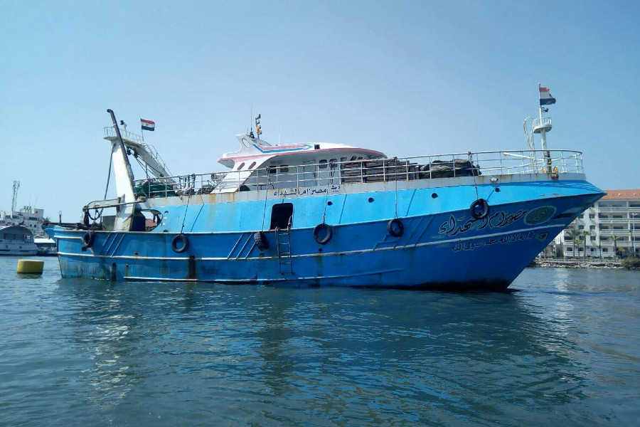 VESSEL REVIEW   Om El Shohadaa – New trawler built for extended trips and tough sailing conditions off Egypt's Mediterranean coast