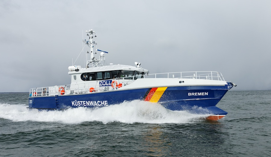 VESSEL REVIEW | Bremen, Gelting and Darss – High-performance patrol boat trio for Germany's General Directorate of Customs