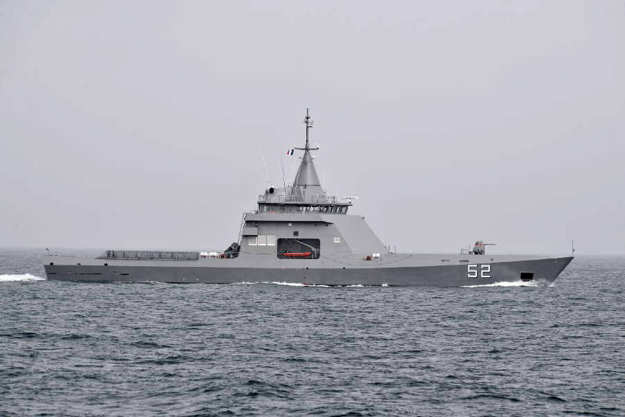 VESSEL REVIEW | Piedrabuena – French-built OPV for Argentine Navy