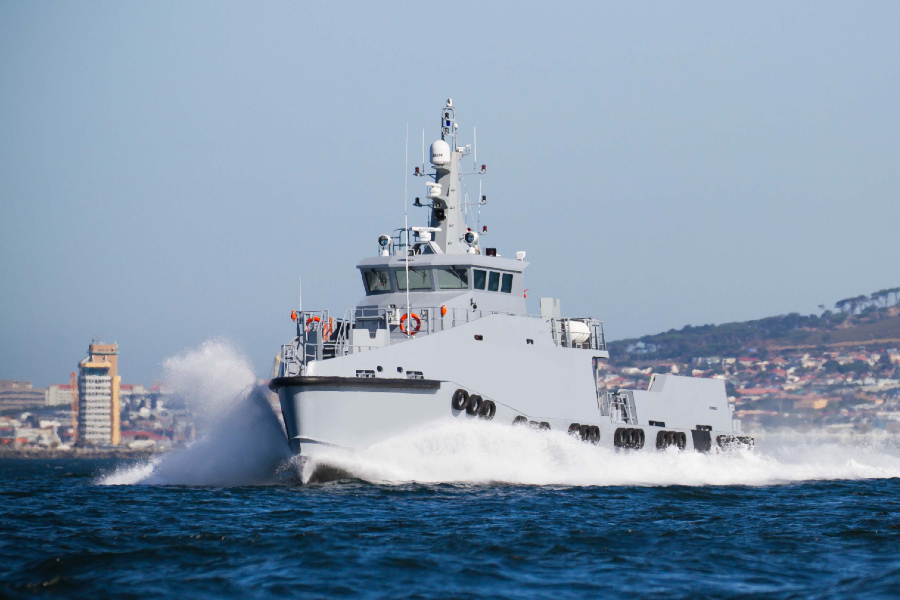VESSEL REVIEW | South African-built escort and patrol vessel for Gulf of Guinea anti-piracy missions