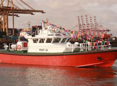 Sri Lanka Pilot Boat Colombo Dockyard Macduff Ship Design