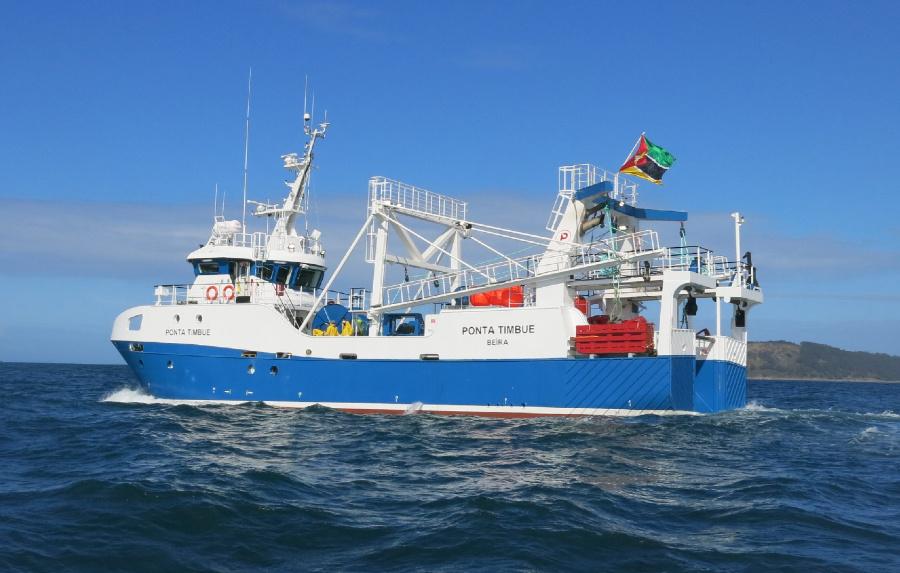 VESSEL REVIEW   Ponta Timbue – Nueva Pescanova's newest trawler takes on prawn fishing off Mozambique