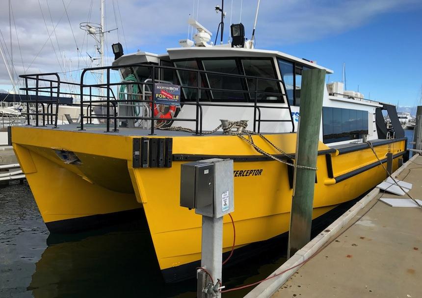 ADVERT | 15-18-metre catamaran crewboat wanted