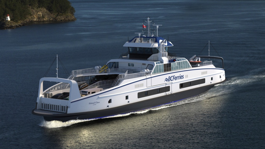Two Schottel-driven ferries for BC Ferries
