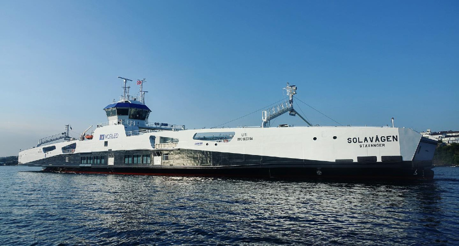 VESSEL REVIEW | Solavågen – Second in series of four new hybrid ferries for Norled