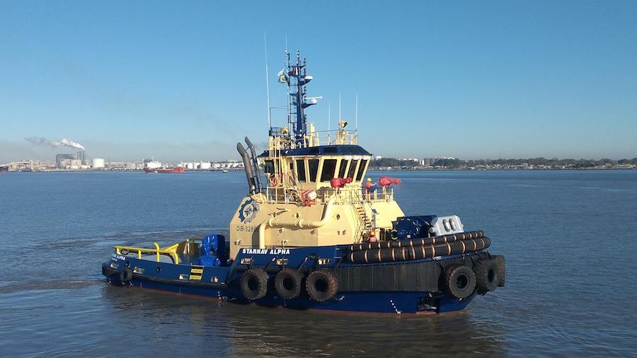 VESSEL REVIEW   Starnav Alpha– Last of eight-vessel Brazilian escort tug series delivered to Starnav's rapidly growing fleet