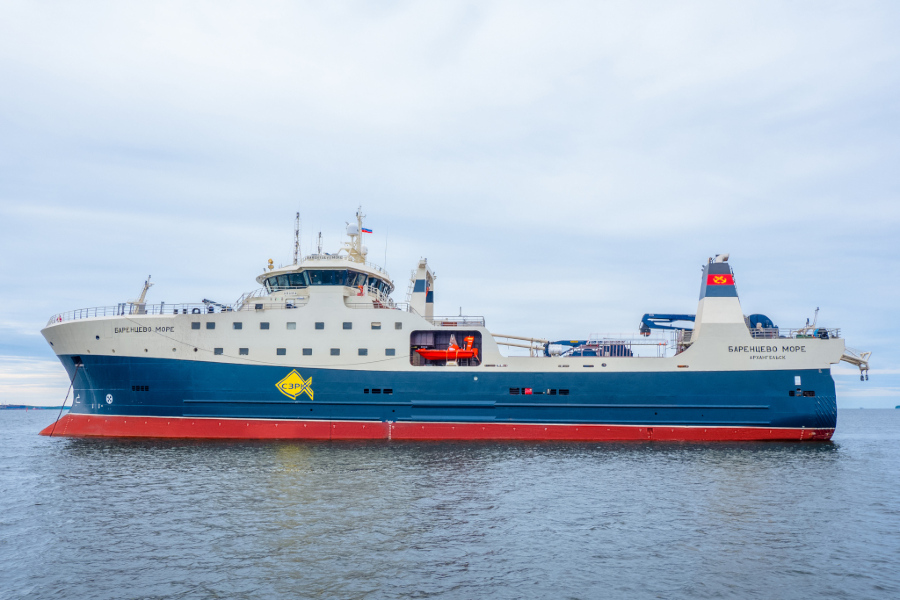 VESSEL REVIEW | Barentsevo More – First of four modern, heavy duty freezer trawlers for Russia's northern waters