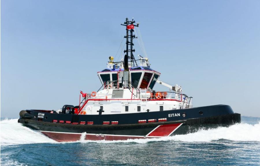 VESSEL REVIEW   Eitan – Tripmare deploys third powerful ship-handling tug for Israel's Ashdod Port