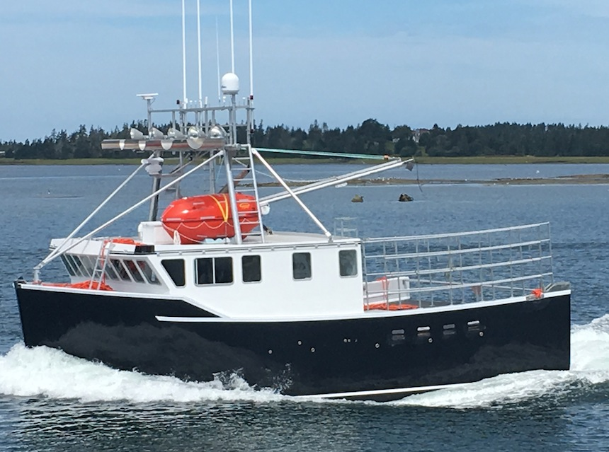Ocean Swell X lobster boat Bayview Marine Canada