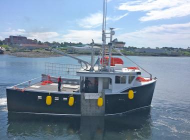 Ocean Swell X lobster boat Bayview Marine Canada