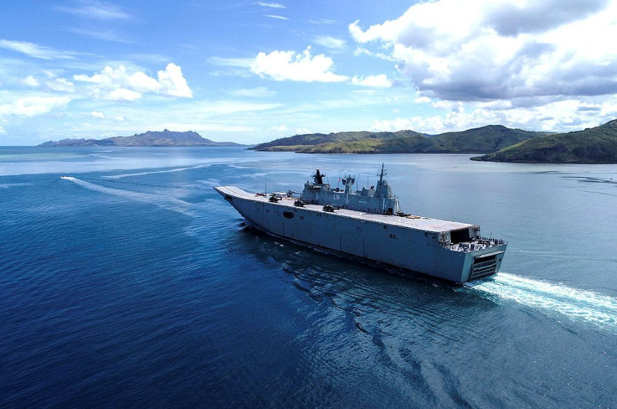 OPINION | Navies must reduce their carbon emissions in the face of climate change