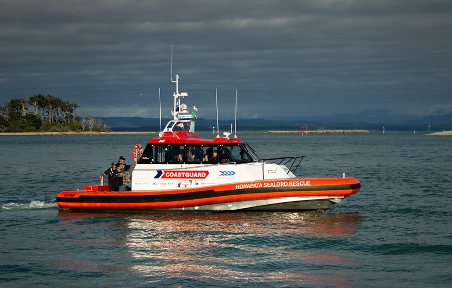 VESSEL REVIEW | Hohapata Sealord Rescue – High-speed boat for Coastguard NZ's South Island station