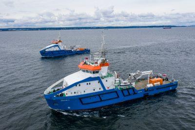 Best Multi-Purpose Workboat – Zodiak II and Planeta I